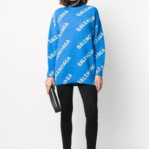 BNWT Balenciaga Logo Sweater PRICE FIRM